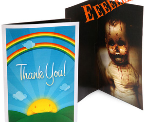 Scary Sound Greeting Card Attack