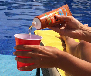 Secret Sunscreen Bottle Flasks