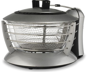 See Through Glass Deep Fryer