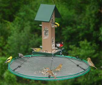 Seed Hoop - Bird Feeder Seed Catcher
