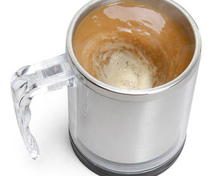 Self-Stirring Coffee Mug