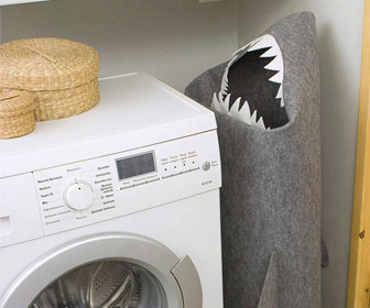 SHARK - Felt Laundry Hamper