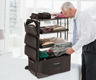 ShelfPack - Suitcase With Built-In Shelves