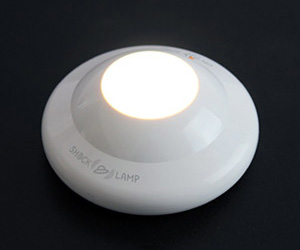 Shock Sensor Lamp - Earthquake Emergency LED Light