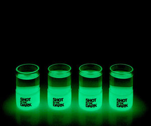 Shot in the Dark - Glow in the Dark Shot Glasses