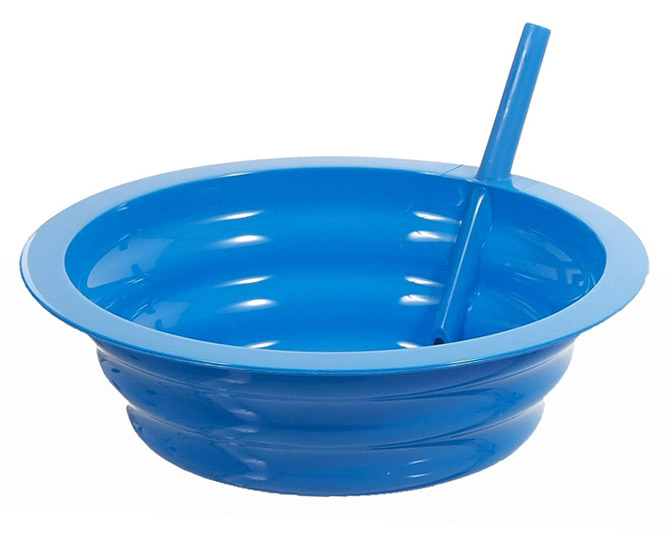Sip-A-Bowl - Bowls With Built-In Straws for Cereal, Ice Cream, and More