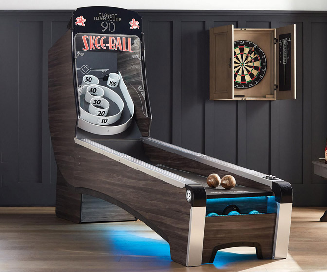 Skee-Ball Machine Home Arcade Game