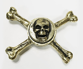 Skull and Crossbones Fidget Spinner