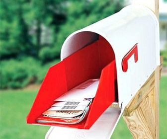 Slide-Out Mailbox Extender Tray