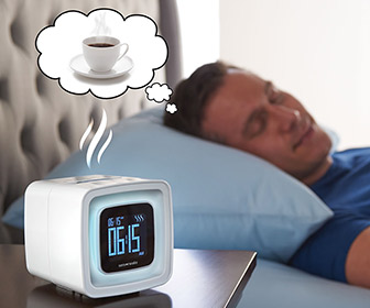 Smell the Coffee Scented Alarm Clock