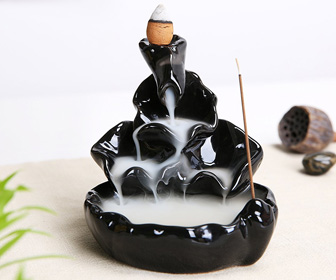 Smoke Waterfall - Backflow Incense Cone Burner