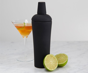 Soft-Grip Black Nuance Cocktail Shaker