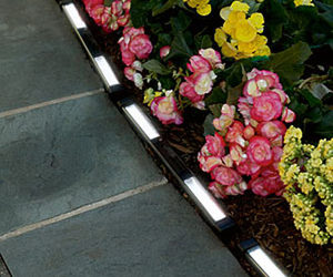 Solar-Powered LED Edging