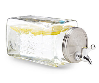 Space-Saving Mason Jar Fridge Beverage Dispenser