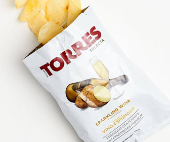 Sparkling Wine Potato Chips
