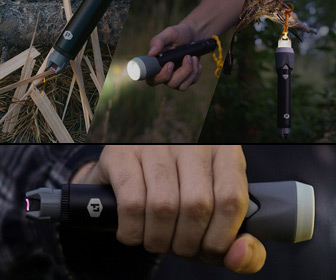 SPARKR - Windproof Plasma Lighter, Flashlight, and Lantern