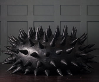 Spike-Covered Sea Urchin Bean Bag Chair