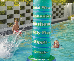 Splash 'n Up - Inflatable Cannonball Meter
