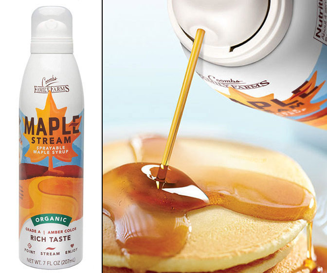 Sprayable Maple Syrup