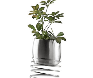 Stainless Steel Spring Planter