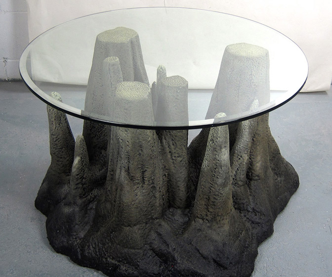 Stalagtable - Cave Stalagmite Coffee Table