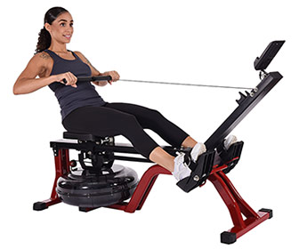 Stamina X Water Rower - Compact Rowing Machine