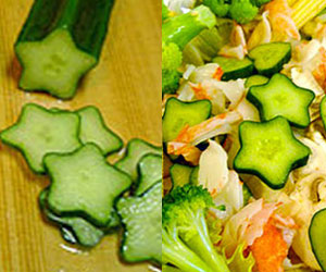 Star-Shaped Cucumber Mold