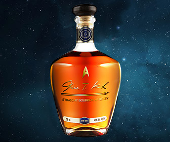 Star Trek James T. Kirk Straight Bourbon Whiskey