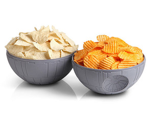 Star Wars Death Star Chip and Dip Bowls