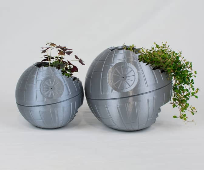Star Wars Death Star II Planters