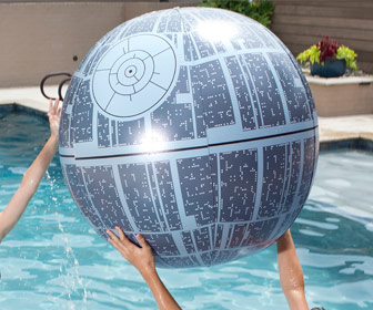 Star Wars Death Star Light-Up Beach Ball XXL