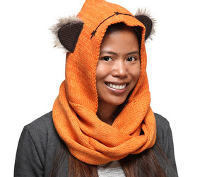 Star Wars Ewok Knit Hooded Scarf