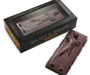 Star Wars Han Solo Frozen in Carbonite Chocolate Bar