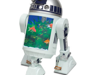 R2-D2 Aquarium with Radar Eye Periscope