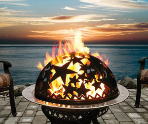 Starry Night Fire Pit