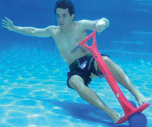 Sub Jumpa - World's First Underwater Pogo Stick