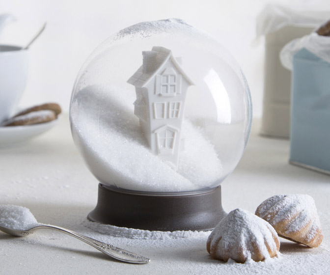 Sugar House - Sugar Bowl Snow Globe