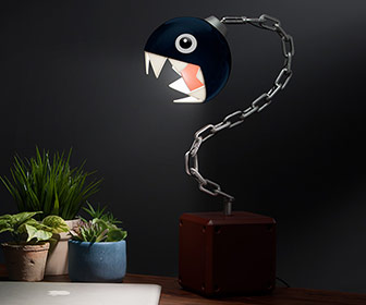 Super Mario Chain Chomp Desk Lamp