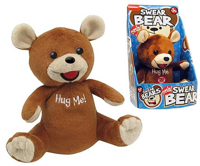 Swear Bear Cursing Plush Toy