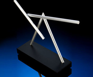 The Swinging Sticks - Kinetic Desk Sculpture