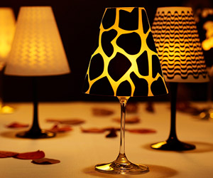 Tacajur - Wine Glass Lampshades