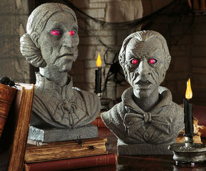 Talking Halloween Busts