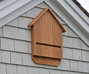 Teak Bat House - No More Mosquitos!