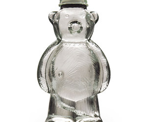 Teddy Bear Glass Sugar Shaker