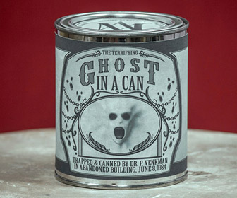 Terrifying Ghost In A Can