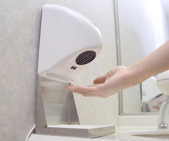 Thanko Compact Home Hand Dryer