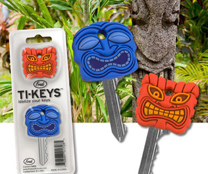 Ti-keys - Tiki Key Covers