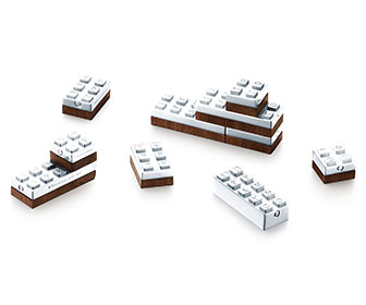 Tiffany & Co. Sterling Silver Building Blocks