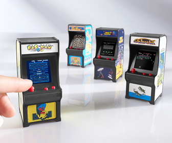 Tiny Arcade - World's Smallest Fully Functional Arcade Games