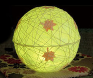 Tomori Seasonal LED Japanese Paper Lanterns